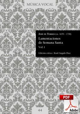 Torres | Lamentaciones de Semana Santa Vol. 1