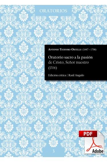 Ortells | Oratorio sacro a la pasión de Cristo, Señor nuestro