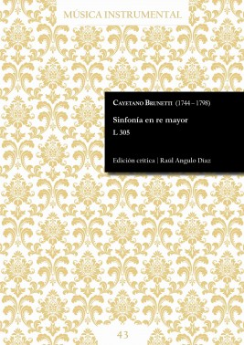 Brunetti | Sinfonía en re mayor L 305