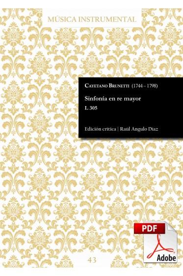 Brunetti | Symphony in D major L 305