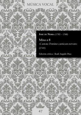 Nebra | Misa «Cantate Domino canticum novum»