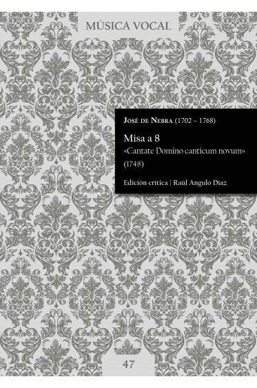 Nebra | Mass «Cantate Domino canticum novum»