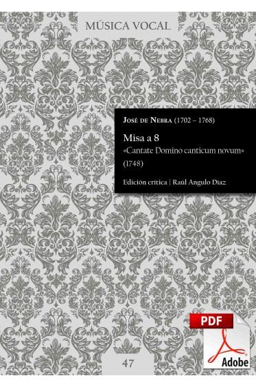 Nebra   Misa «Cantate Domino canticum novum»