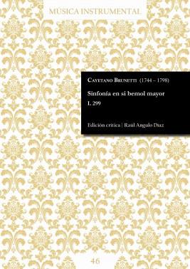 Brunetti | Sinfonía en si bemol mayor L 299