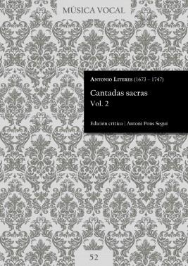Literes | Cantadas sacras Vol. 2