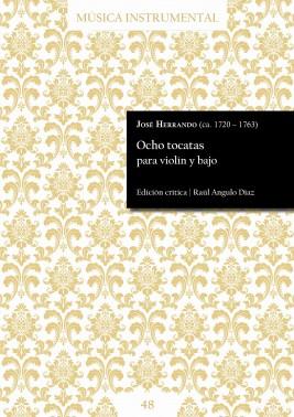 Herrando| Eight toccatas for violin and bass