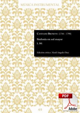 Brunetti | Sinfonía en sol mayor L 301