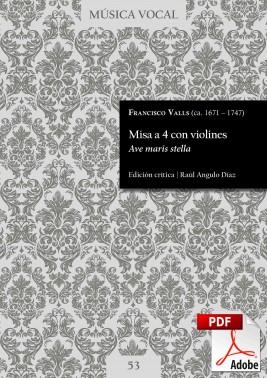 Valls | Mass  «Ave maris stella»