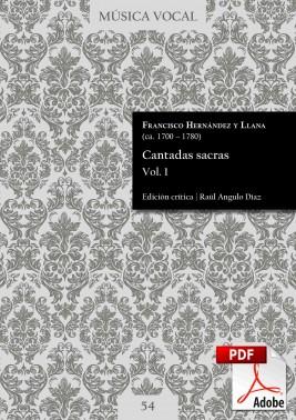 Hernández y Llana | Cantadas sacras Vol. 1
