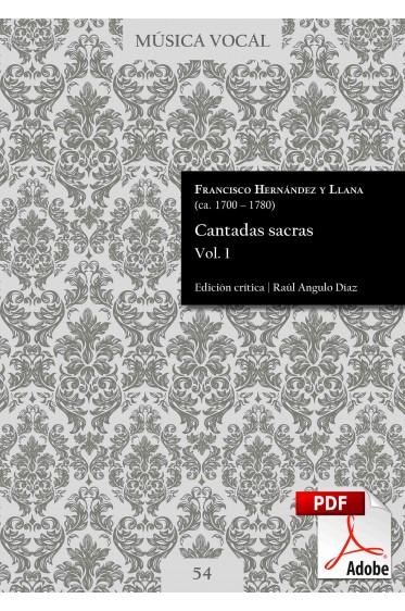 Hernández y Llana   Cantadas sacras Vol. 1