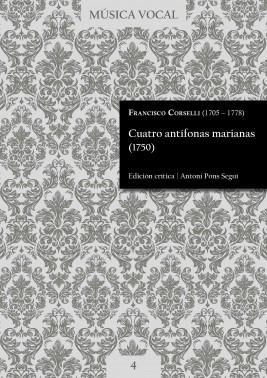 Corselli | Cuatro antífonas marianas