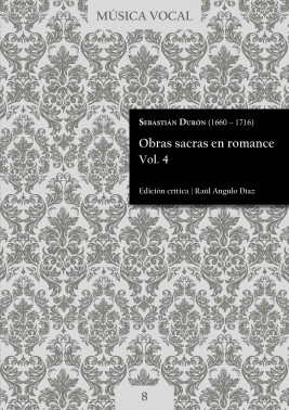 Durón | Sacred works in Romance language Vol. 4